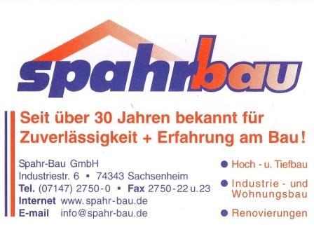 Logo Spahrbau mit Text